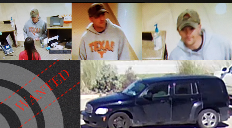 FBI offers reward for information on the Longhorn Bandit