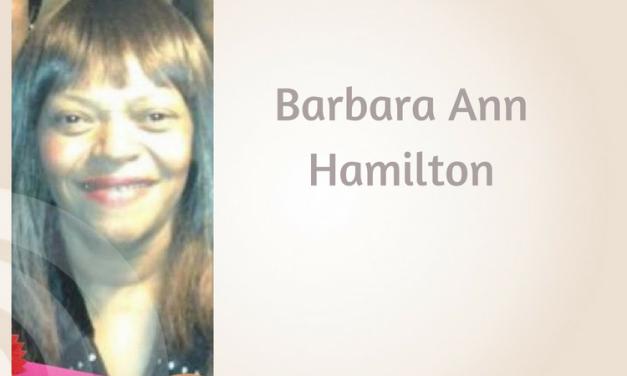 Barbara Ann Hamilton of Paris