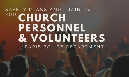 Paris Police Department offers safety training for church personnel and volunteers