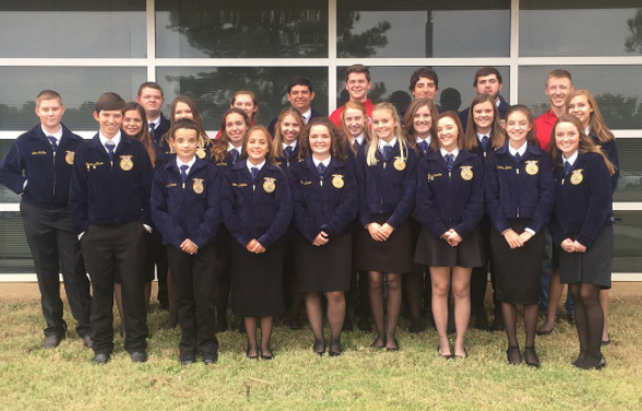 Prairiland FFA Participates in District FFA Leadership Development Events