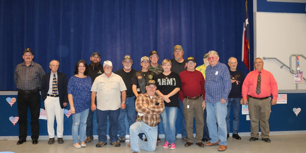 Roxton ISD holds Veterans Day Program