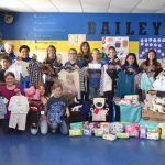 Bailey student council takes up collection for Children's Advocacy Center