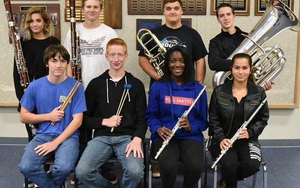 NLHS students named to All-Region Orchestra