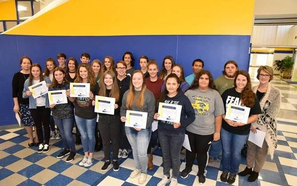 NLHS outstanding students and teacher named for 2nd six weeks