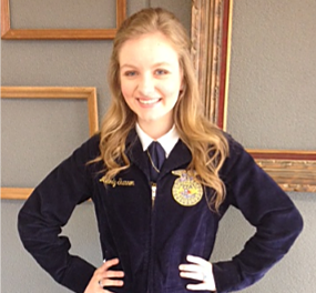 NL's Melody Shannon advances to FFA area competition