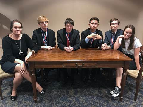 NLHS Student Congress Sweeps Region and Heads to State
