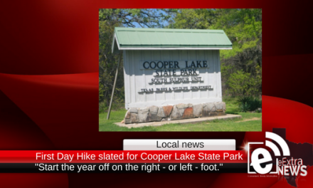 First Day Hike slated for Cooper Lake State Park on Monday