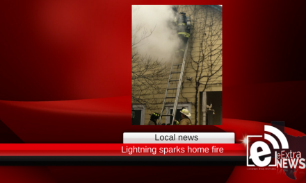 Lightning to blame after local family's home catches fire
