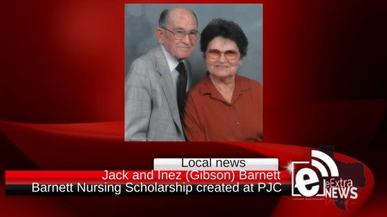 Barnett Nursing Scholarship created at PJC