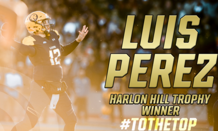 Luis Perez wins Harlon Hill Trophy as 2017 Division II Football Player of the Year