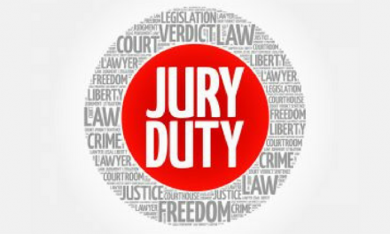 Tuesday's jury panel for county court is cancelled