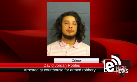 Teenager is arrested at Lamar County Courthouse for armed robbery