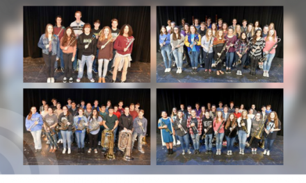NLHS students named to All-Region Band