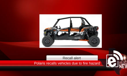 Polaris recalls vehicles due to fire hazard
