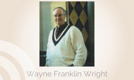 Wayne Franklin Wright of Paris