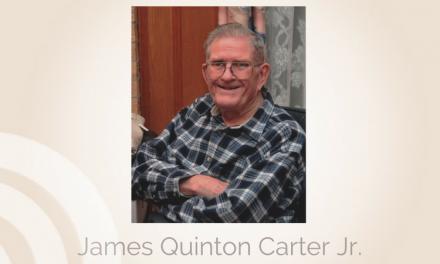 James Quinton Carter Jr. of Ozona, Texas