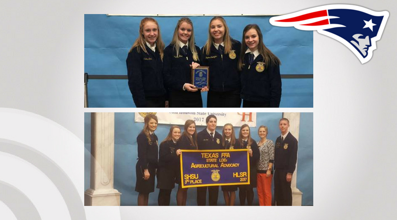 Prairiland FFA teams compete at state level