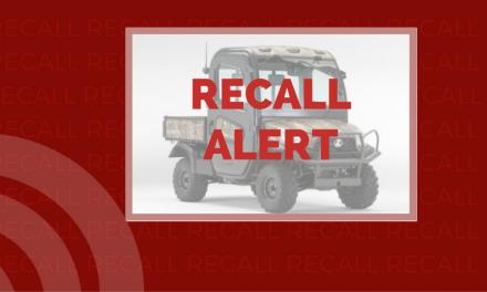 Recall issued for Kubota RTV-X due to injury hazard