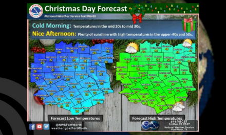 Christmas Day Weather Update