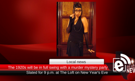 1920s will be in full swing with a murder mystery party