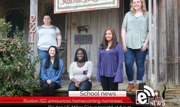 Roxton ISD announces 2018 Homecoming Nominees