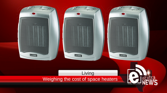 Space heater costs are out of this world