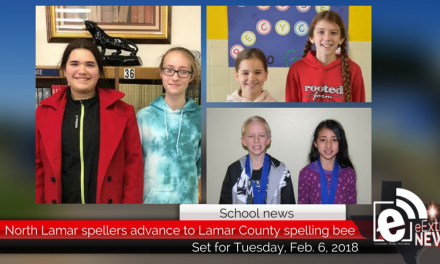 North Lamar spellers advance to Lamar County spelling bee