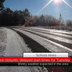 Schools announce delayed start times, closures for Tuesday due to possible wintry weather • Updated 9 p.m.