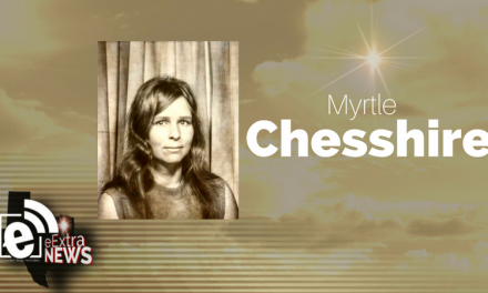 Myrtle Chesshire of Detroit, Texas