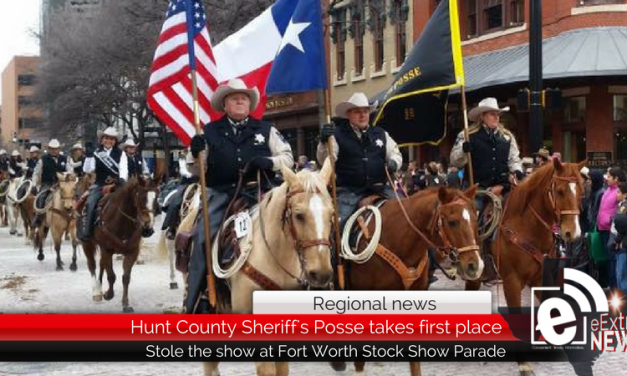 Regional news: Hunt County Sheriff's Posse steals the show this year