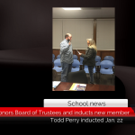 Roxton ISD honors Board of Trustees and inducts new member