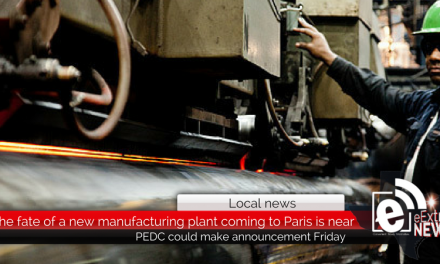 The fate of a new manufacturing company in Paris could soon be revealed