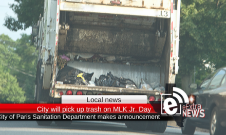 City of Paris will pick up trash on Martin Luther King Jr. Day