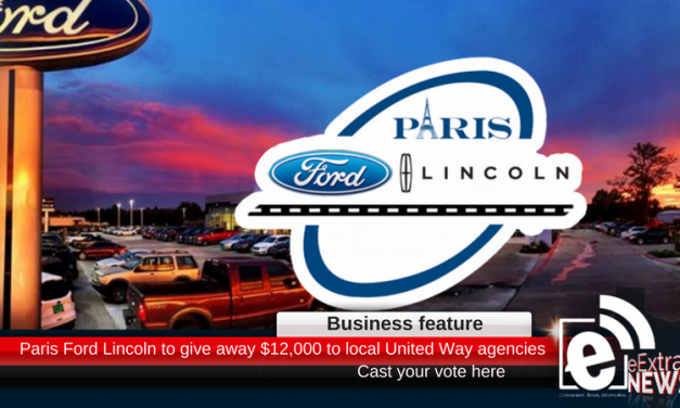 Paris Ford Lincoln to give away $12,000 to United Way agencies – cast your vote here