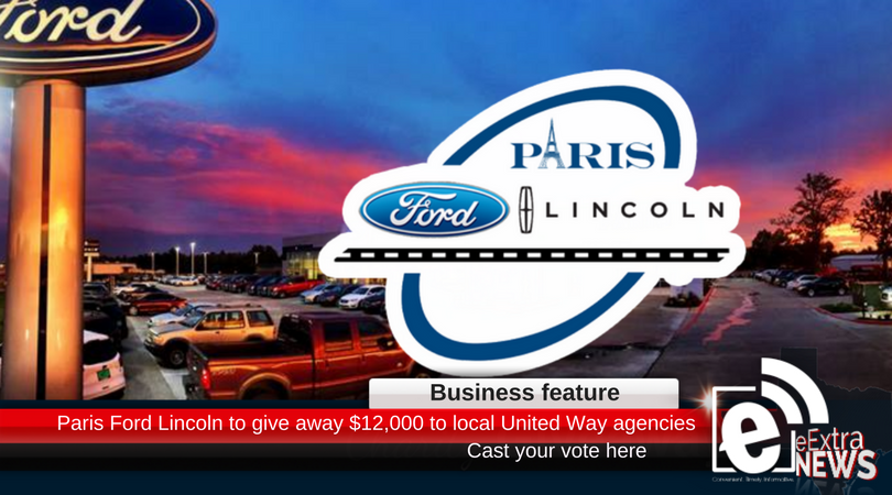 Texas Dream Center leads the way in Paris Ford Lincoln 12/12/12 campaign