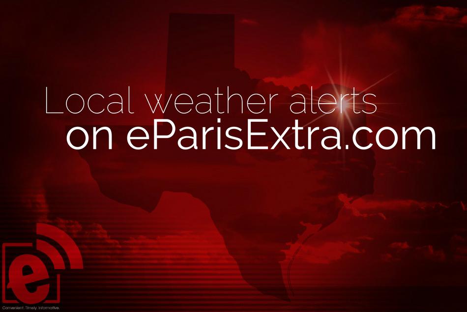 Local Weather on eParisExtra.com