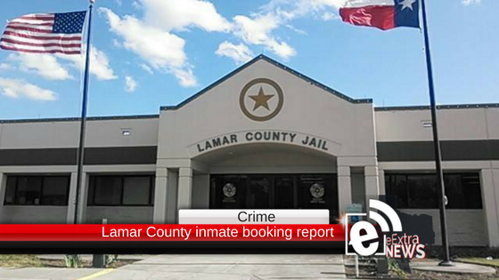 Lamar County inmate booking report || April 17, 2018