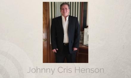 Johnny Cris Henson of Midlothian, Texas