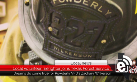 Local volunteer firefighter joins Texas Forest Service