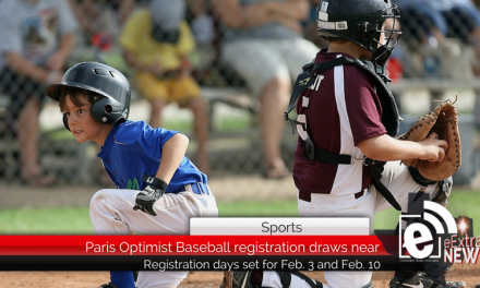 Paris Optimist Baseball registration draws near
