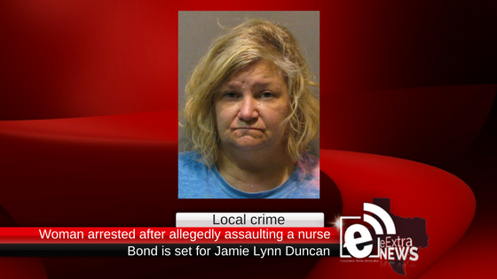 Woman arrested after allegedly assaulting a nurse
