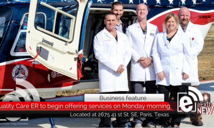 Quality Care ER to begin offering services on Monday morning