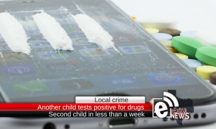 Another local child has tested positive for a controlled substance