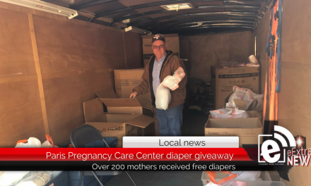 Paris Pregnancy Care Center gives away free diapers and health information