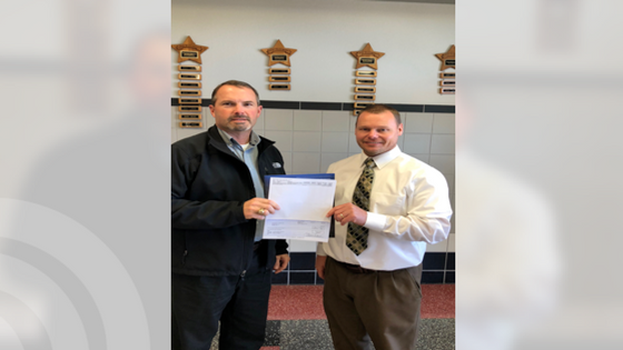 Chisum Middle School receives $500 grant toward math and science education