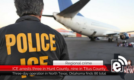 Regional crime: ICE arrests 86 in Northeast Texas during immigration sting