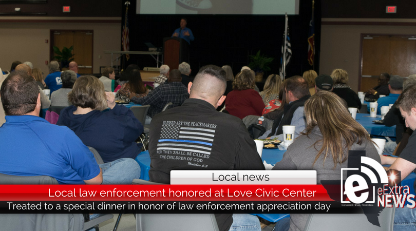 Local law enforcement honored at Love Civic Center