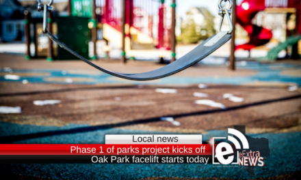 Phase 1 of parks project kicks off today at Oak Park