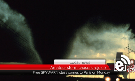 Amateur storm chasers rejoice — a free SKYWARN severe weather class will be in town next Monday