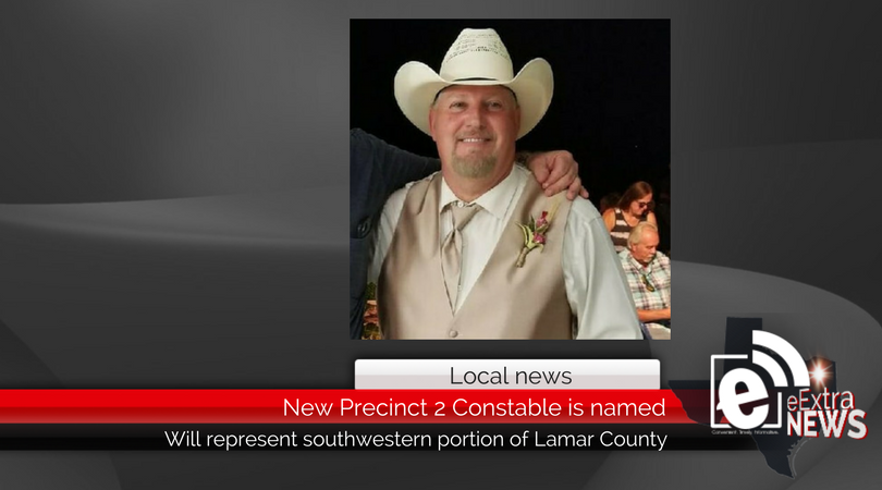 New Precinct 2 Constable is named for Lamar County